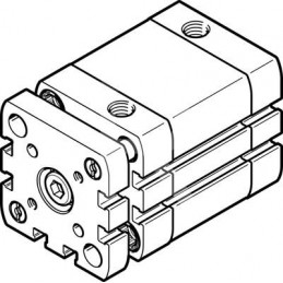 ADNGF-40-25-PPS-A 574034 Festo
