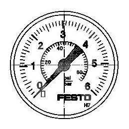 MA-40-6-G1/4-EN 183899 Festo